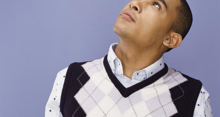 Los chalecos pueden ser una manera barata de vestir un traje.