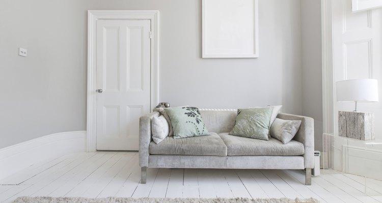 Los tonos claros son los elegidos para las salas pequeñas.