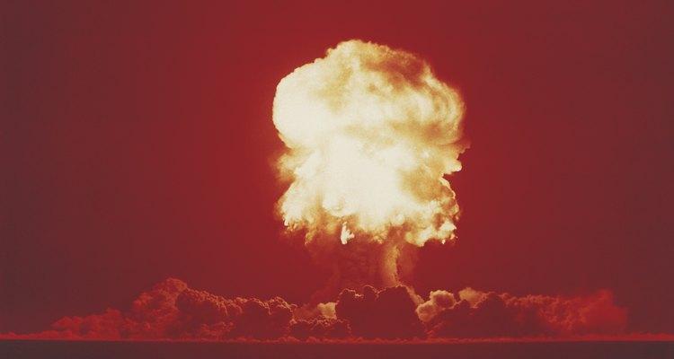 Las explosiones termonucleares destruyen el ambiente.