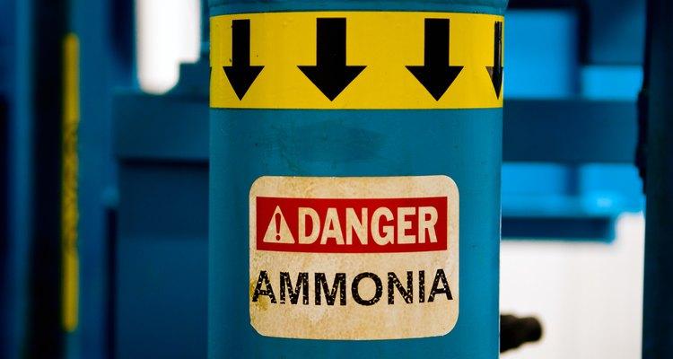 A amônia é um tóxico corrosivo que pode ter efeitos devastadores