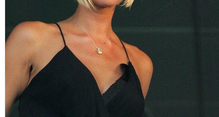 El peinado carré en linea-A de Victoria Beckham.