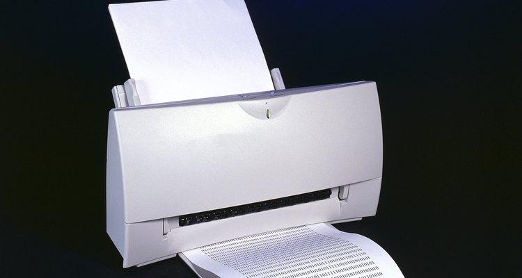 Como visualizar o histórico recente de uma impressora