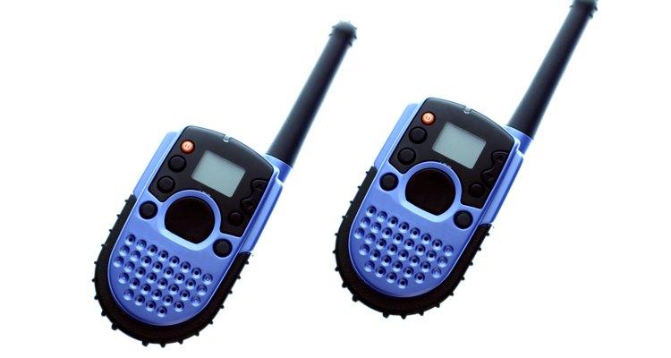 Rádio-transmissores são como telefones com pequenas alterações