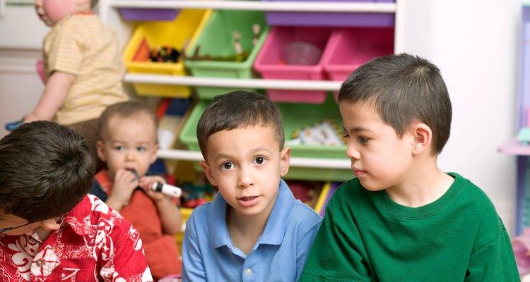 La duración de una cita de juegos de niños en edad preescolar depende de las actividades planificadas.