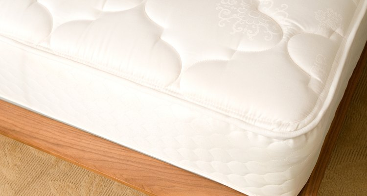 Disassemble unwanted mattresses and use the components around the home and garden.