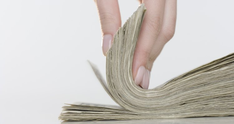 Flipping A Stack of Money
