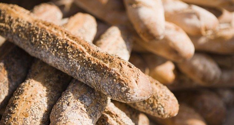 O pão artificial pode ser uma bela peça decorativa