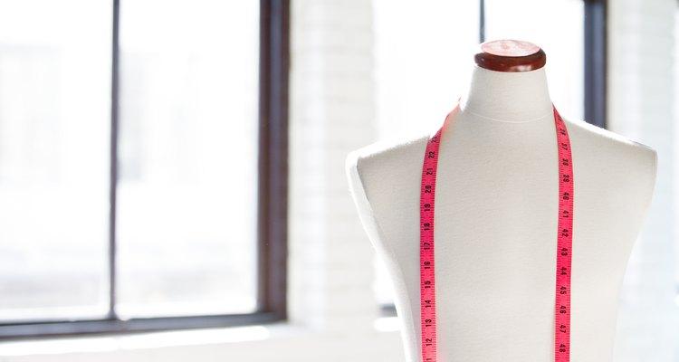 O giz de costureiro pode ser removido após alterações ou projetos de costura