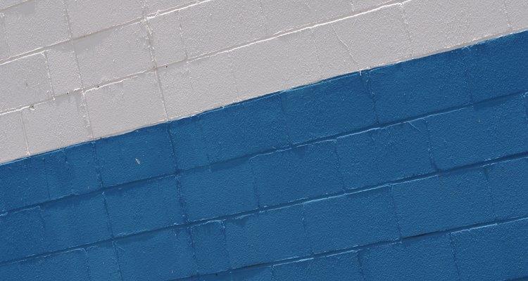 Los bloques pueden ser usados como material de cerca de bajo costo.