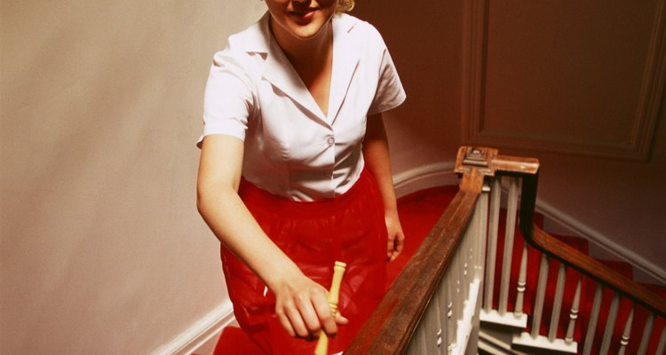 El trabajo de limpieza doméstica es para personas diligentes y trabajadoras.