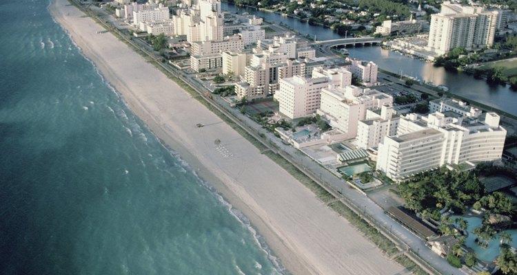 Miami Beach es una de las playas más famosas.