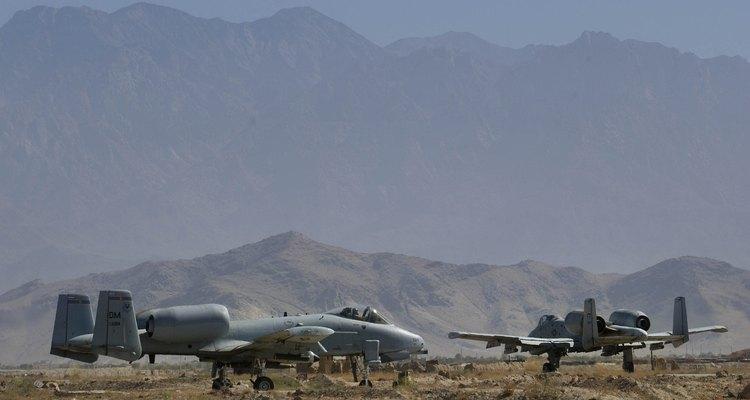 Base aérea de Bagram en Afganistán.