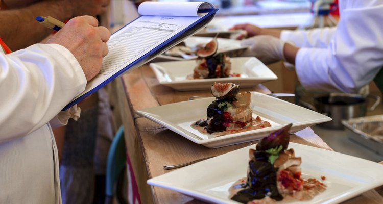 Ranking food at a contest
