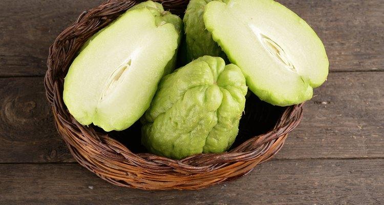 zucchini centennial or thorny biological (chayote)