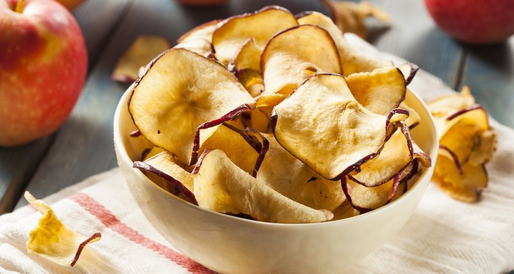 Baked Dehydrated Apples
