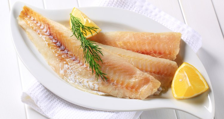 White cod fillets