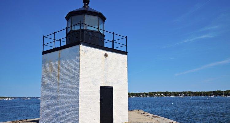 Derby Wharf Lighthouse in Salem, MA