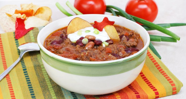Mexican Taco Soup in a bowl