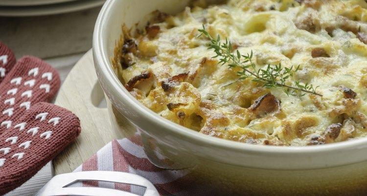 Creamy chicken and potato casserole