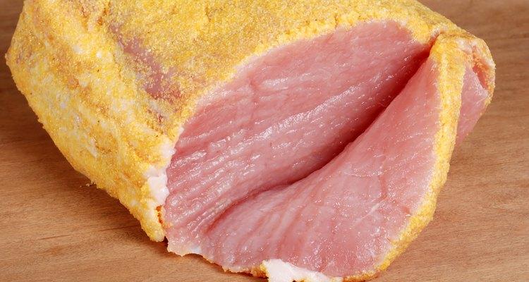 sliced canadian peameal bacon