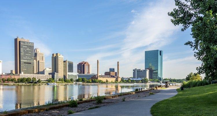 Toledo City Skyline