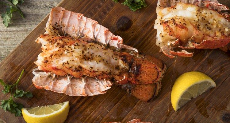 Seasoned Baked Lobster Tails