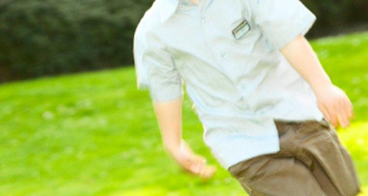 La acción de correr debe poner una sonrisa en la cara de tu hijo.