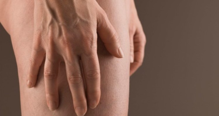 Un hueco o hendidura puede deslucir tu muslo.