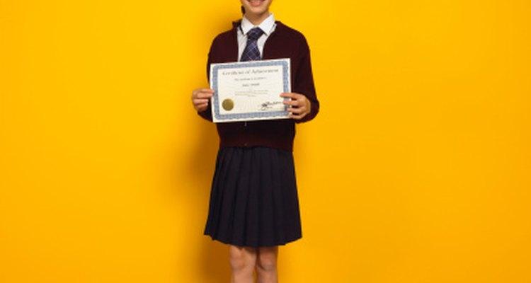 Otorgarle premios a los estudiantes de primaria les recordará cuán especiales son.