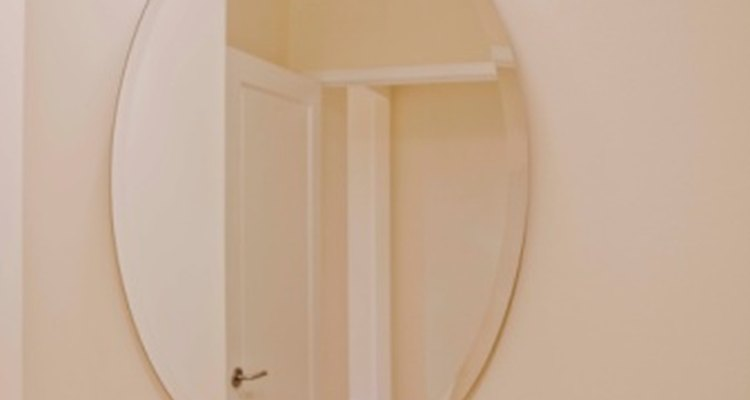 A custom mirror can be created to match any decor expensively.