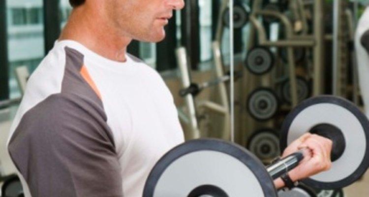 El dolor muscular es especialmente común en los levantadores de pesas.