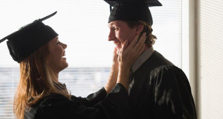 Honra al graduado con un brindis.