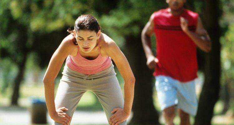 La acidez no es infrecuente durante el ejercicio.