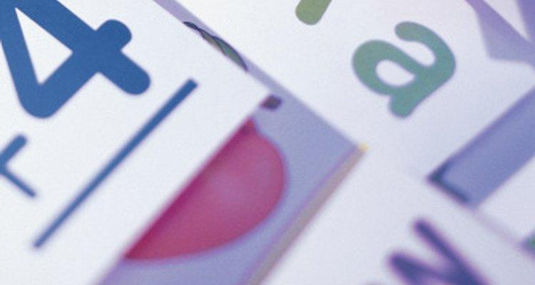 Las tarjetas didácticas no sólo son para el alfabeto y las matemáticas; también se pueden utilizar para enseñar lecciones de vida.