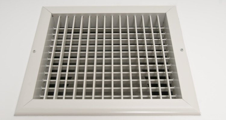 Air vents in older homes help regulate the environment in the house.