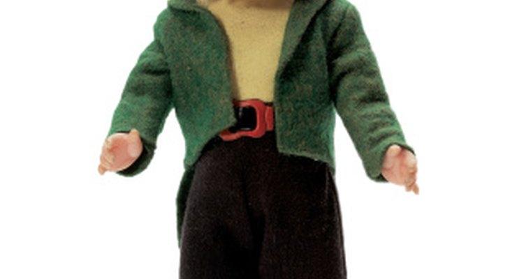 Los elfos ayudan a Santa a estar al tanto de como se portan los niños.