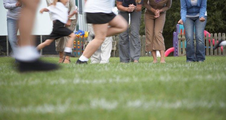 El día recreativo le permite a los estudiantes y docentes divertirse juntos al final del año escolar.