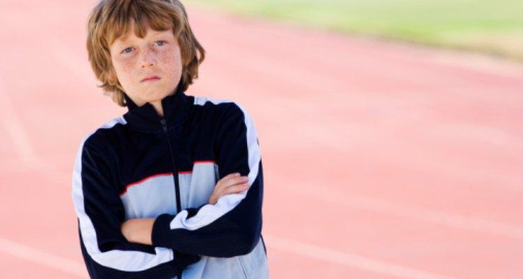 Beneficios del atletismo para niños.