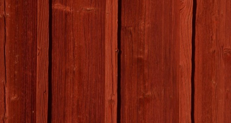 Cedar is a beautiful red wood, but can turn grey if not properly cared for.