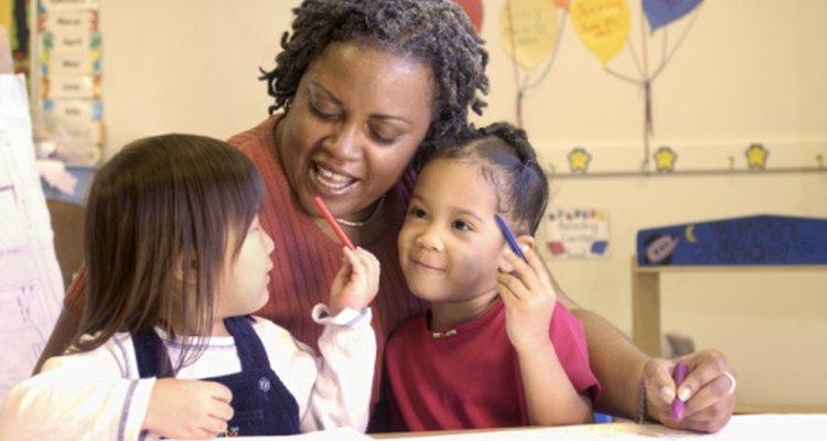 Usa una variedad de evaluaciones formales e informales con tus niños en etapa preescolar.