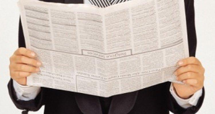 Los estudiantes se pueden encontrar en los titulares del periódico escolar.
