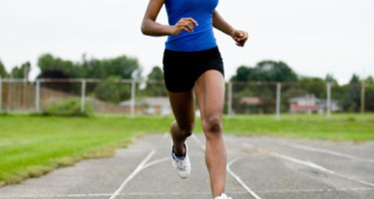 Los corredores de distancia rastrean su velocidad.