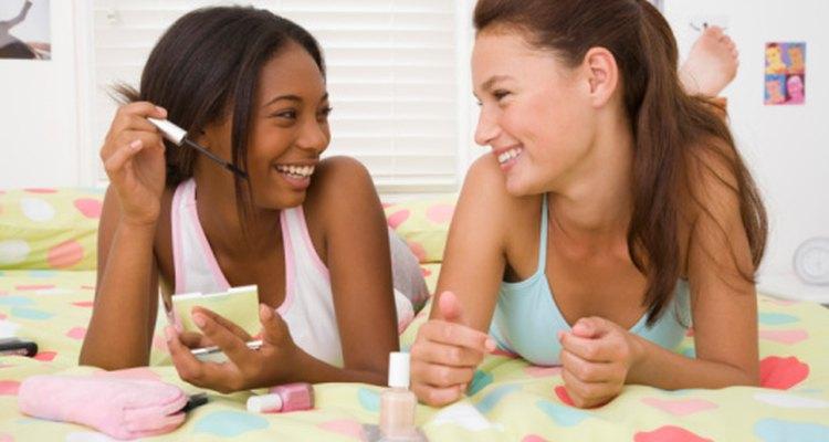A muchas niñas les encantará la idea de una fiesta de pijamas de spa.