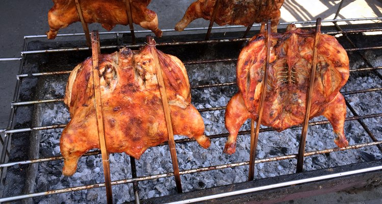 Delicious Grilled Thai Chickens