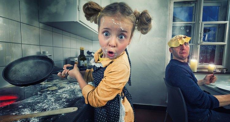 El arte culinario requiere de un cocinero cómodo.