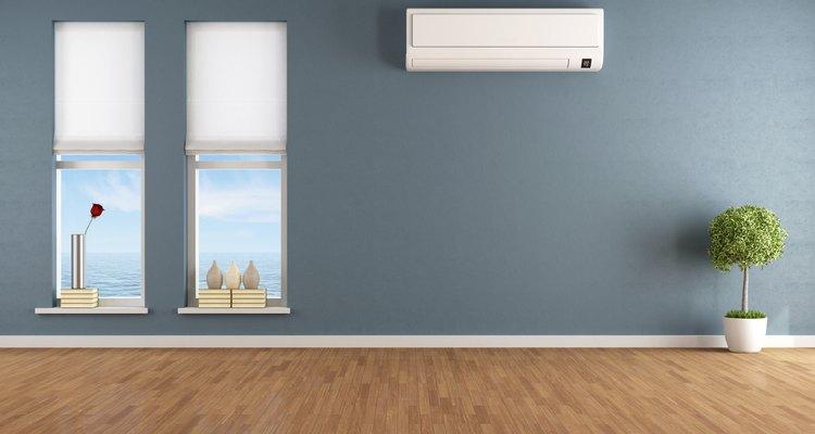 Condicionadores de ar secam o ar como efeito do processo de resfriamento