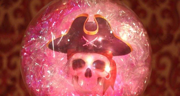 Exhibe tu bola de cristal para Halloween.