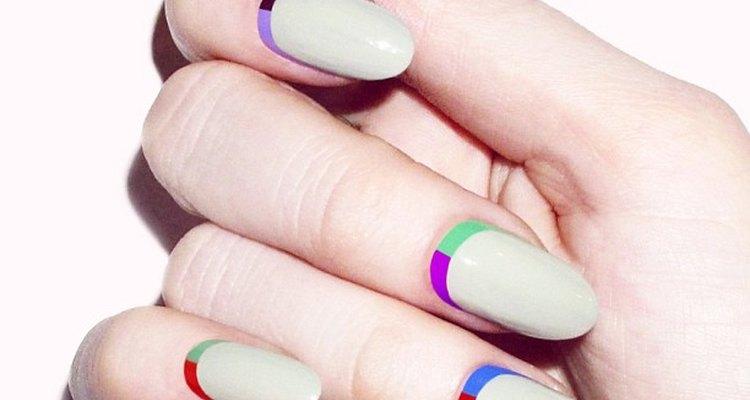 Estas uñas destacan tu femineidad.