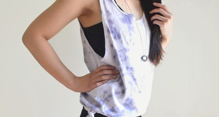 How to Make a Bottom-Tie Tank Top