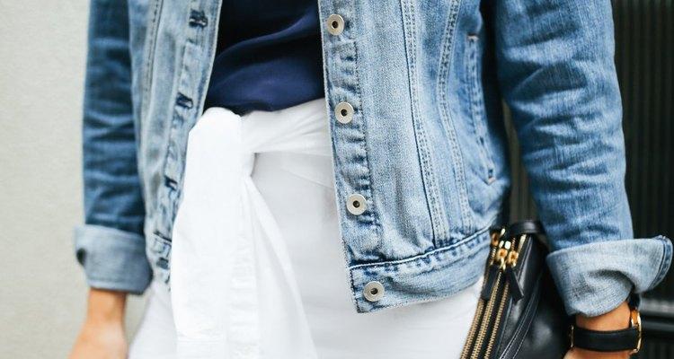 white shirt as a skirt